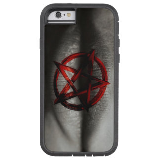 Red Pentagram Mouth Tough Xtreme iPhone 6 Case
