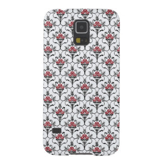 Red Peony Damask Galaxy S5 Cover