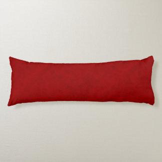 Red Peony Gambler Velvet Look Body Pillow