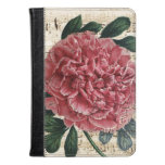 Red Peony Music Kindle Case