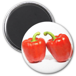 Red Pepper 2 Inch Round Magnet