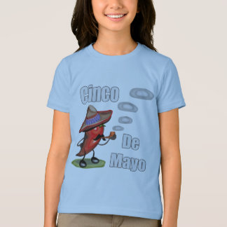 Red Pepper Cinco de Mayo T-shirts and Gifts