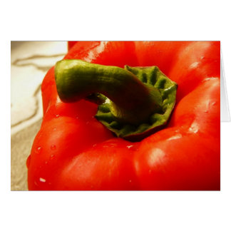 Red Pepper - Ready to Eat! Card