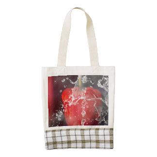 Red Pepper Splash Zazzle HEART Tote Bag