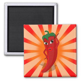 Red Pepper Superstar Magnet