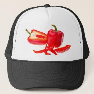 Red pepper trucker hat