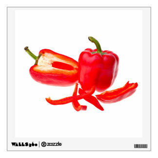 Red pepper wall graphic