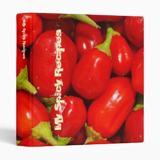 Red Peppers Binders