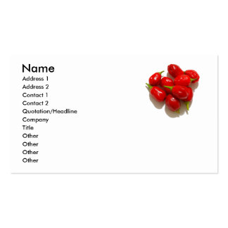 Red Peppers Business Card