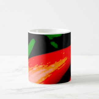Red peppers coffee mug