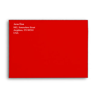 Red Peppers Envelope