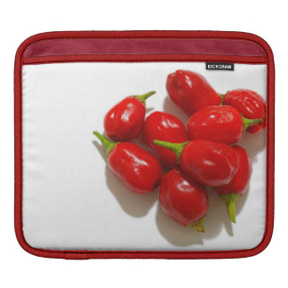 Red Peppers iPad Sleeves
