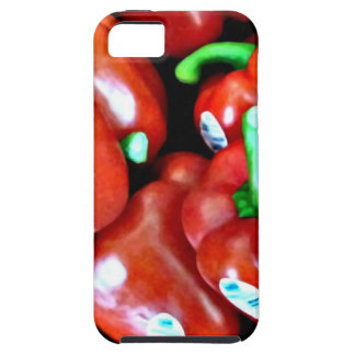Red Peppers iPhone Hard Case iPhone 5 Cases