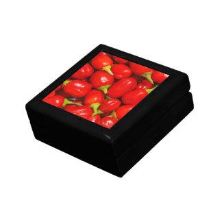 Red Peppers Keepsake Box