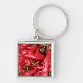 Red Peppers Keychain