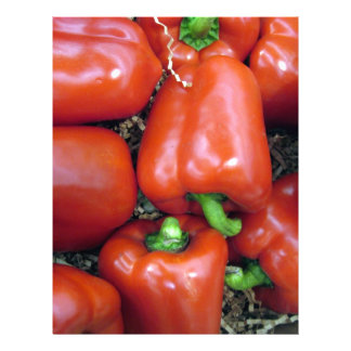Red Peppers Letterhead