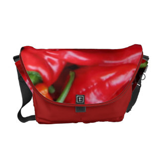 Red Peppers Messenger Bag