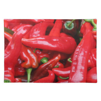 Red Peppers Placemats