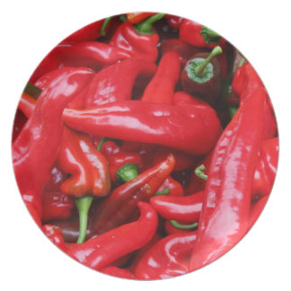 Red Peppers Plate