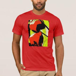 Red Peppers Pop Art T-Shirt
