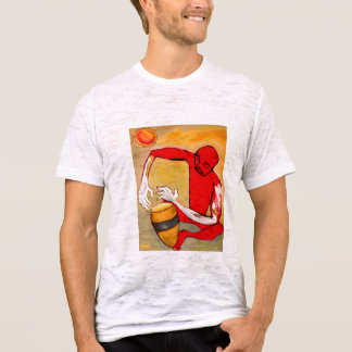 red percussionist T-Shirt
