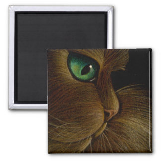 RED PERSIAN CAT Magnet