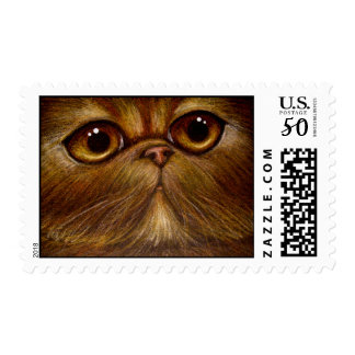 RED PERSIAN CAT Postage