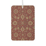 Red Persian scarlet arabesque tapestry