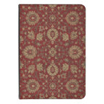 Red Persian scarlet arabesque tapestry Kindle Touch Cover