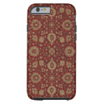 Red Persian scarlet arabesque tapestry iPhone 6 Case