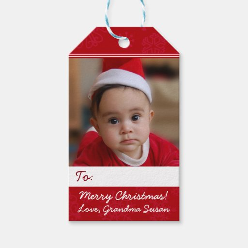 Red Personalized Christmas Holiday Photo...