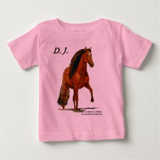 Red Peruvian Paso Toddler Tshirt
