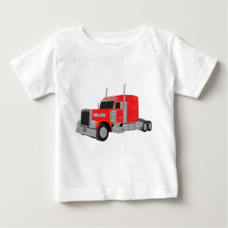 red peter built tractor baby T-Shirt