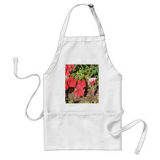 Red Petunias Aprons