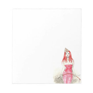 Red Phoenix Rising Notepad