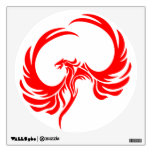 Red Phoenix Wall Decal