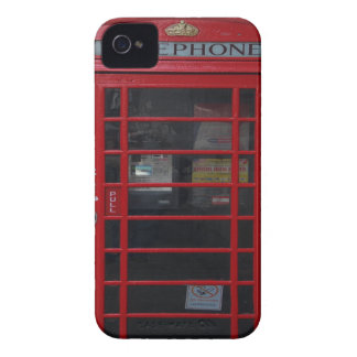 red phone booth iPhone 4 cases