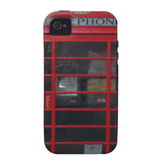 red phone booth Case-Mate iPhone 4 cover