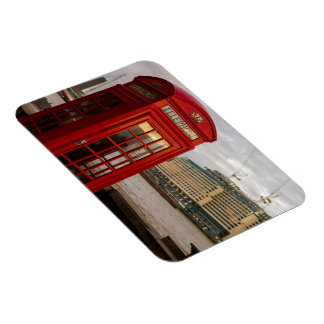 Red Phone Booth - London UK Magnet