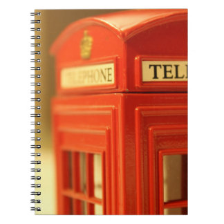 Red Phone Booth Notebook
