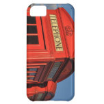 Red phone box cover cover for iPhone 5C