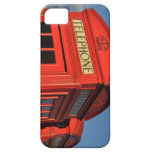Red phone box cover iPhone 5 cases