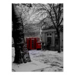 Red Phone Boxes Poster