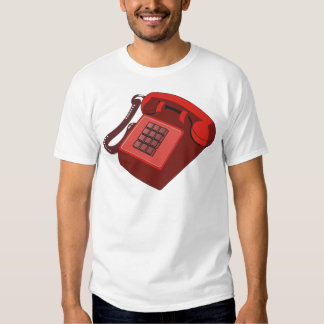 RED PHONE T SHIRT