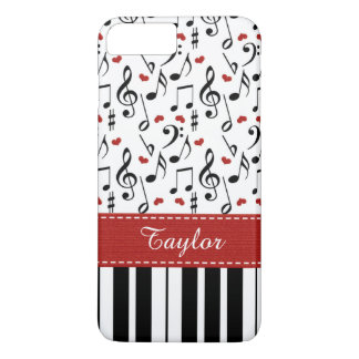 Red Piano Keyboard iPhone 8 Plus/7 Plus Case