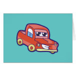 Red Pickup Truck Tshirts and Gifts Card