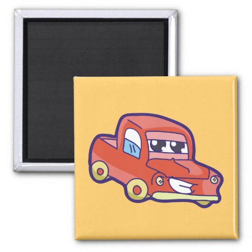 Red Pickup Truck Tshirts and Gifts Refrigerator Magnet