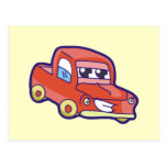 Red Pickup Truck Tshirts and Gifts Post Cards