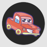 Red Pickup Truck Tshirts and Gifts Stickers