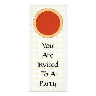 Red Pie. Strawberry Tart. Beige Check. Card